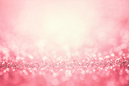 Abstract pink light for the romance background Stock Photo