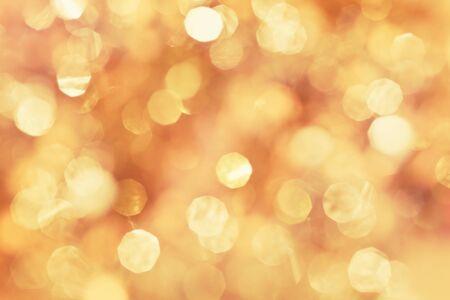 golden light: Abstract  golden  light for holidays background