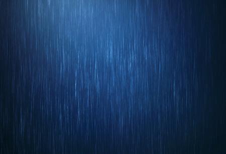 de regenwaterdaling die in regenachtig seizoen met donkerblauwe kleur valt als absract achtergrond Stockfoto