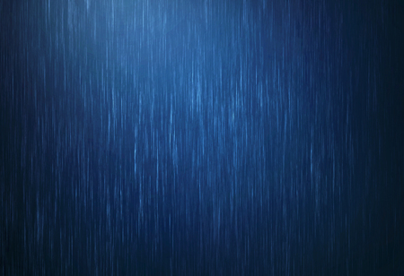 the rain water drop falling in rainy season with dark blue color as absract  background