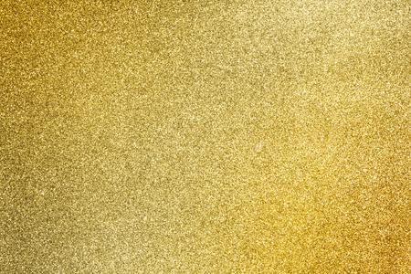 fechar o dourado do glitter textura para o fundo do feriado glamour Banco de Imagens