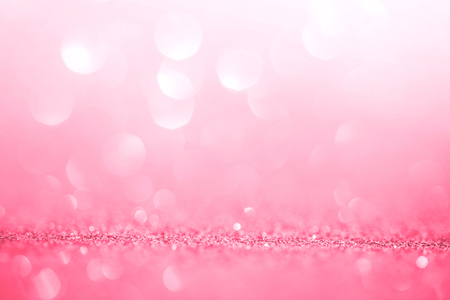 Abstract pink light for the romance background and valentines day