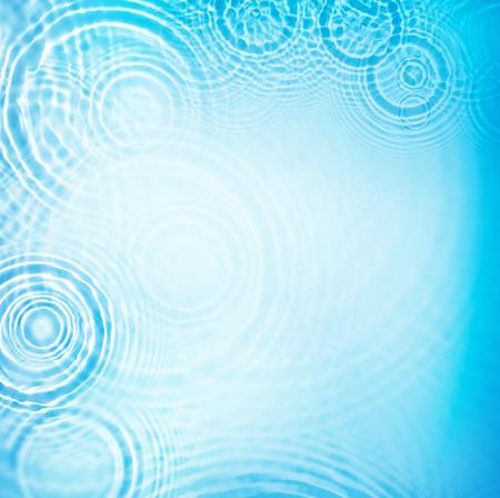 circle water ripple wave suface background Standard-Bild