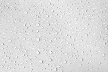 the water drop on white background Zdjęcie Seryjne