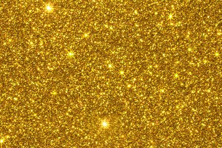 ゴールドラメのテクスチャ表面の背景 写真素材