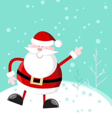 Fat Santa Illustration