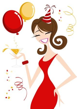 flirty: Celebrazione Ragazza