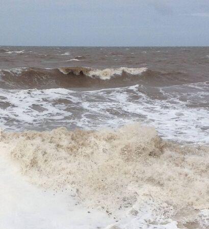 stormy sea: Stormy sea