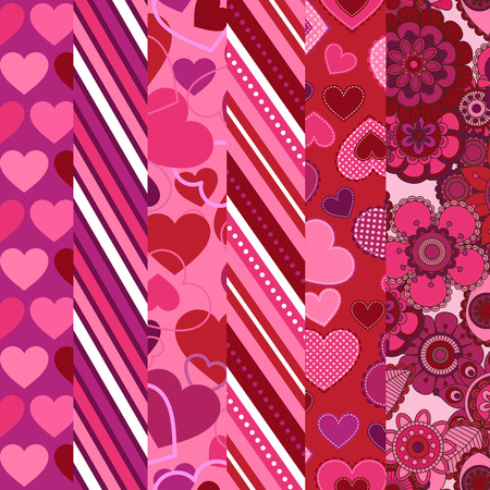 Valentine s Day Vector Backgrounds