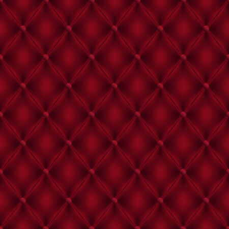 Seamless Vector Boudoir Style Red Leather Background