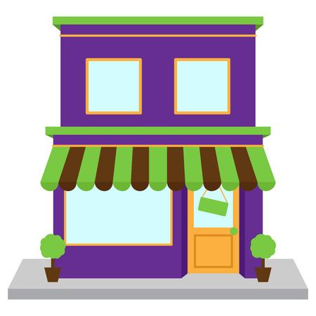 Vektor-Store oder Shop- Standard-Bild - 29966350