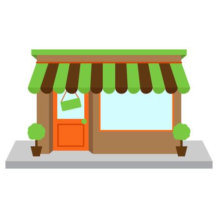 helados caricatura: Vector Store o Tienda