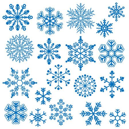 Schneeflocke Vektoren Standard-Bild - 29966365