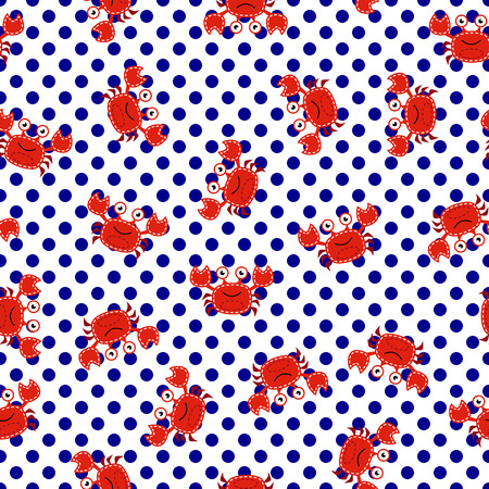 preppy: Seamless Tileable Nautical Themed Vector Background or Wallpaper