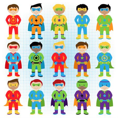 Superhero Kids Cartoon Stock Photos & Pictures. Royalty Free ...