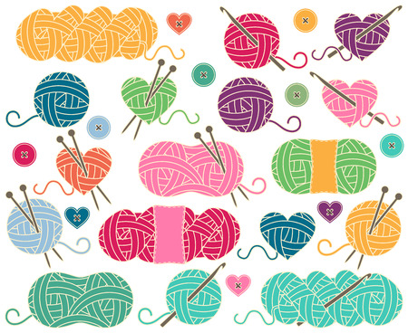14 504 crochet stock vector illustration and royalty free crochet rh 123rf com Crochet Needle Clip Art free crochet clipart images