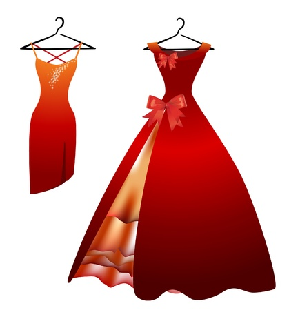 dresses: Dresses Illustration