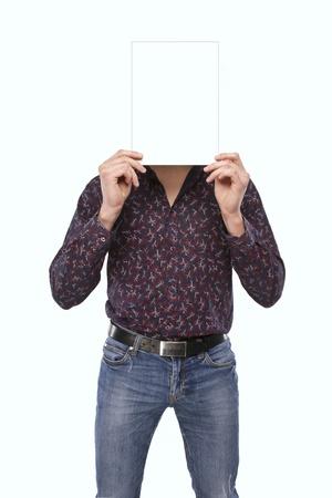 yielding: Man Stock Photo