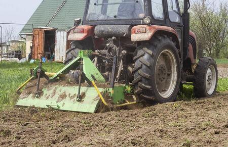 mechanization: Tractor Stock Photo