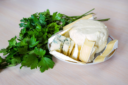 product range: Cheese and parsley