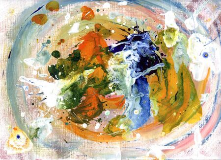 spontaneous painting: abstraction