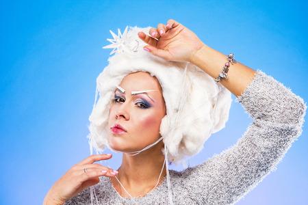 雪の女王 写真素材