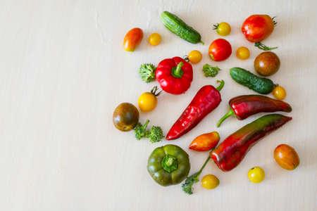 Vegetables in stock. Stock Photo