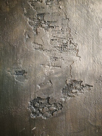 Textured dark gray wall. Stock Photo