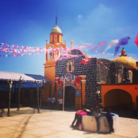 Mexican Church Stok Fotoğraf - 57913145