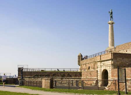 the fortress Kalemegdan in Belgrade, Serbia Stock Photo - 7918801