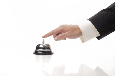 ringing reception bell Stock Photo - 10563631