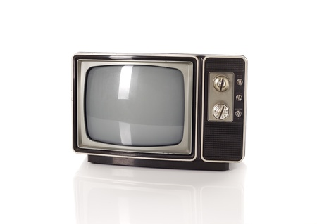 old fashioned tv: old tv