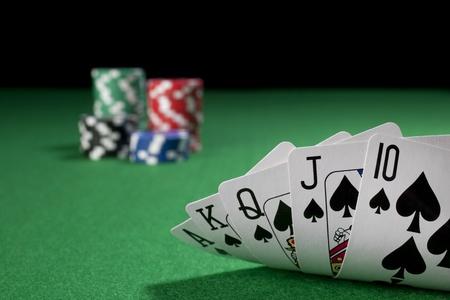 royal flush: Poker, royal flush