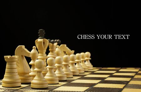 the opponent: chess game