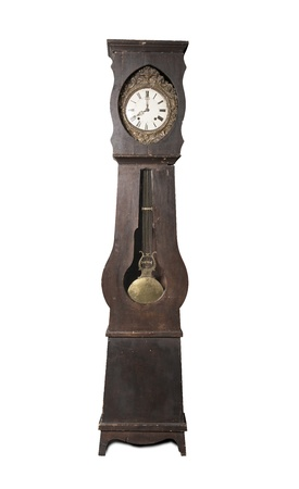 antique clock photo