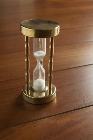 sand glass in time photo