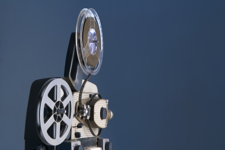 8mm movie projector  photo