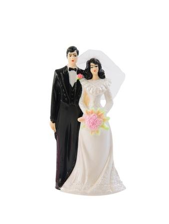 Wedding cake toppers Stock Photo
