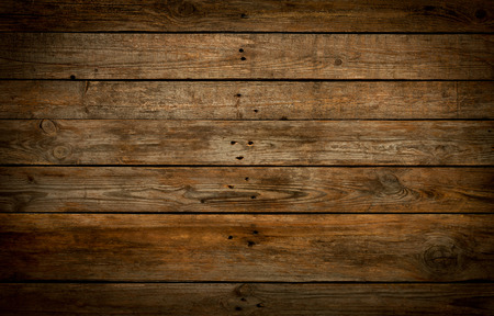 Rustic wooden background. Old vintage real (natural) planked wood. Free text space.