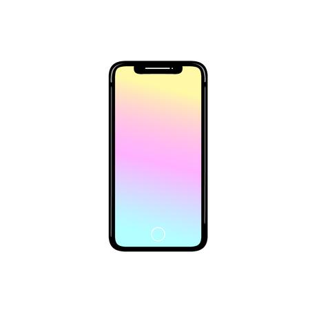 Smartphone phone icon vector illustration Иллюстрация