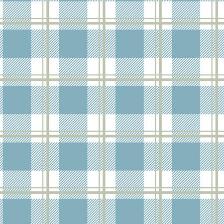 Tartan pattern. Scottish cage. Scottish checkered background. Traditional Scottish ornament. Scottish plaid in blue colors. Fabric texture