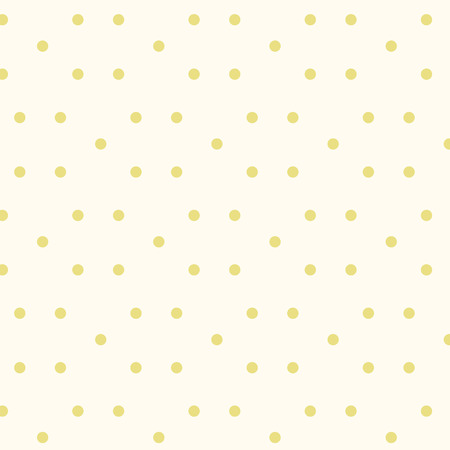 Randomly placed yellow dots and spots vector pattern. Decorative background for print, textile, wallpaper, poster, home decor, packaging, wrapping paper, banner, web pages Иллюстрация