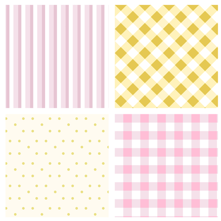 Set Geometric pattern.Texture for plaid, tablecloths, clothes, shirts, dresses, paper, bedding, blankets