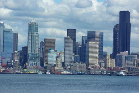 View of downtown Seattle Stok Fotoğraf
