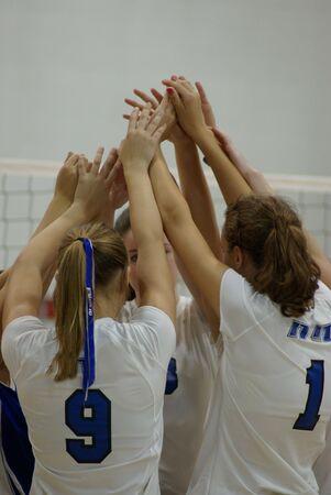 volleyball team: Team work