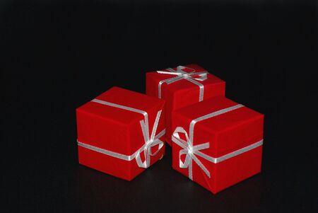 Red box by three