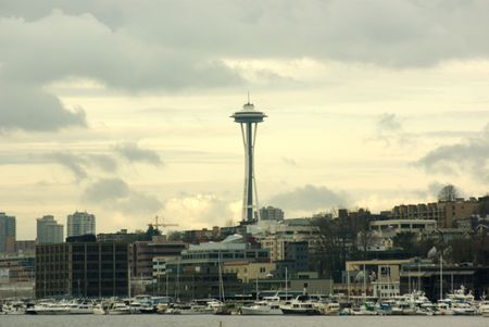 Seattle by the water