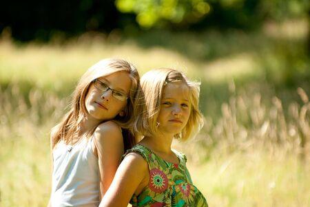 Calm Kids Stock Photo - 5350566