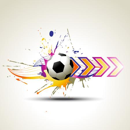 football   artistic design illustration Vector