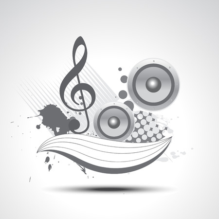 music  art elements illustration design Vector